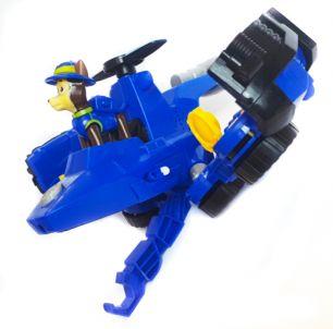 (Сток по упаковке) Большая полицейская машина самолет трансформер Гонщика (Щенячий патруль)