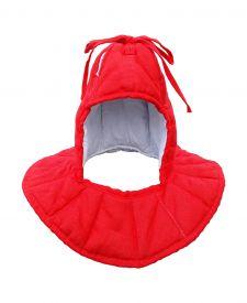 Подшлемник для вшивания в шлем. Красный.