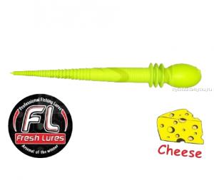 Мягкие приманки Fresh Lures Kasper 2,4'' 60 мм / 1 гр / упаковка 10 шт / цвет: 103  / сыр