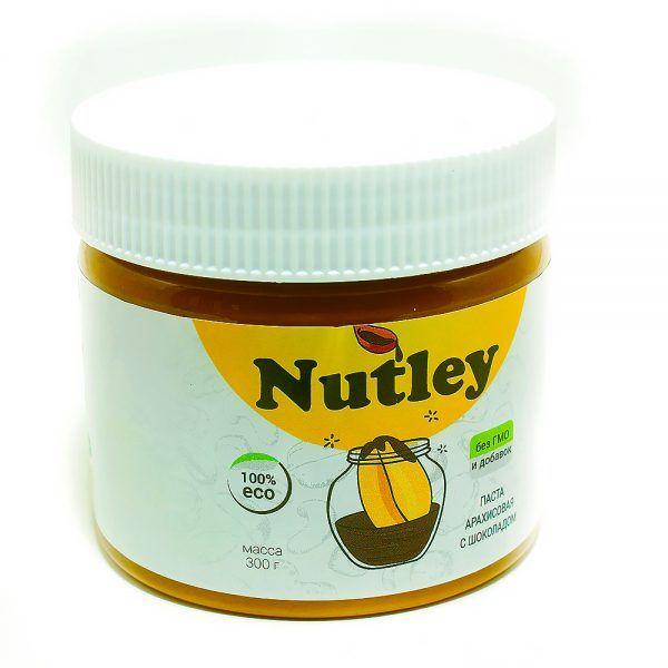 Арахисовая паста Nutley с шоколадом, 300г