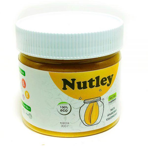 Арахисовая паста Nutley классическая, 300 гр.