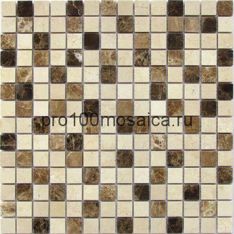 Turin-20 POL. Мозаика серия STONE, размер, мм: 305*305*7