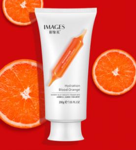 Пенка для умывания с экстрактом красного апельсина Images от «BIOAQUA».(23181)