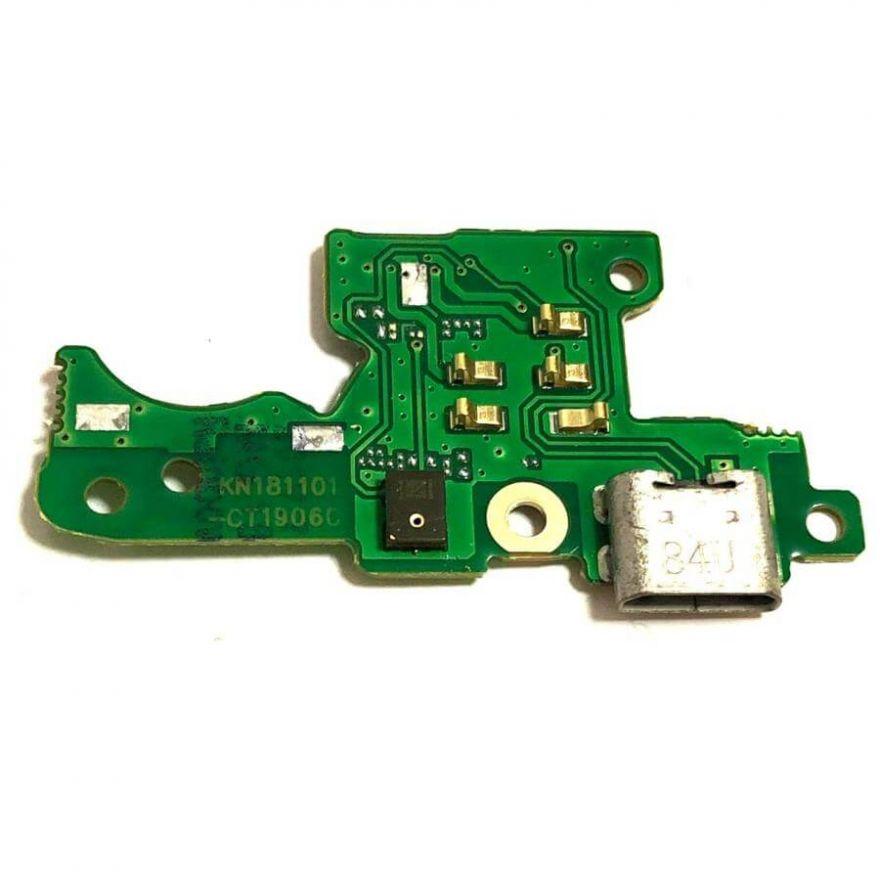 Нижняя плата с разъемом зарядки и микрофоном для Nokia 3.1 (TA-1063)