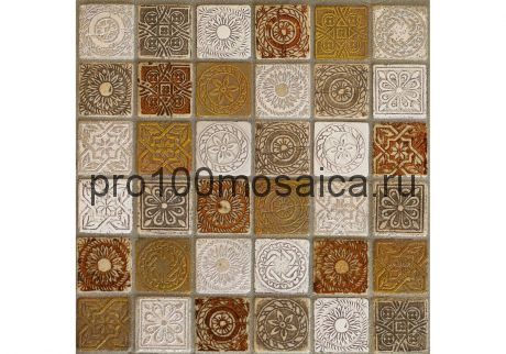 ILIADA BRONZE Мозаика серия STONE,  размер, мм: 300*300*8 (ORRO Mosaic)