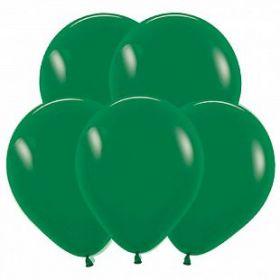 """Тёмно-зелёный, 12"""", пастель, 100 шт"""