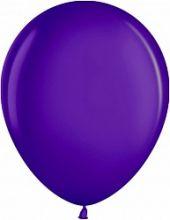 """Шар (12""""/ 30 см, фиолетовый, металлик, 100 шт"""