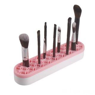 Органайзер для косметики с силиконовыми ячейками Clutter-Free Counters, Светло-розовый