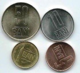 Набор монет Румыния  2019