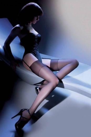 Чулки Gabriella Calze Cher 15 den 226 белые