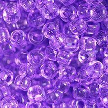 Бисер чешский 01123 светло-сиреневый прозрачный кристальный Preciosa 1 сорт