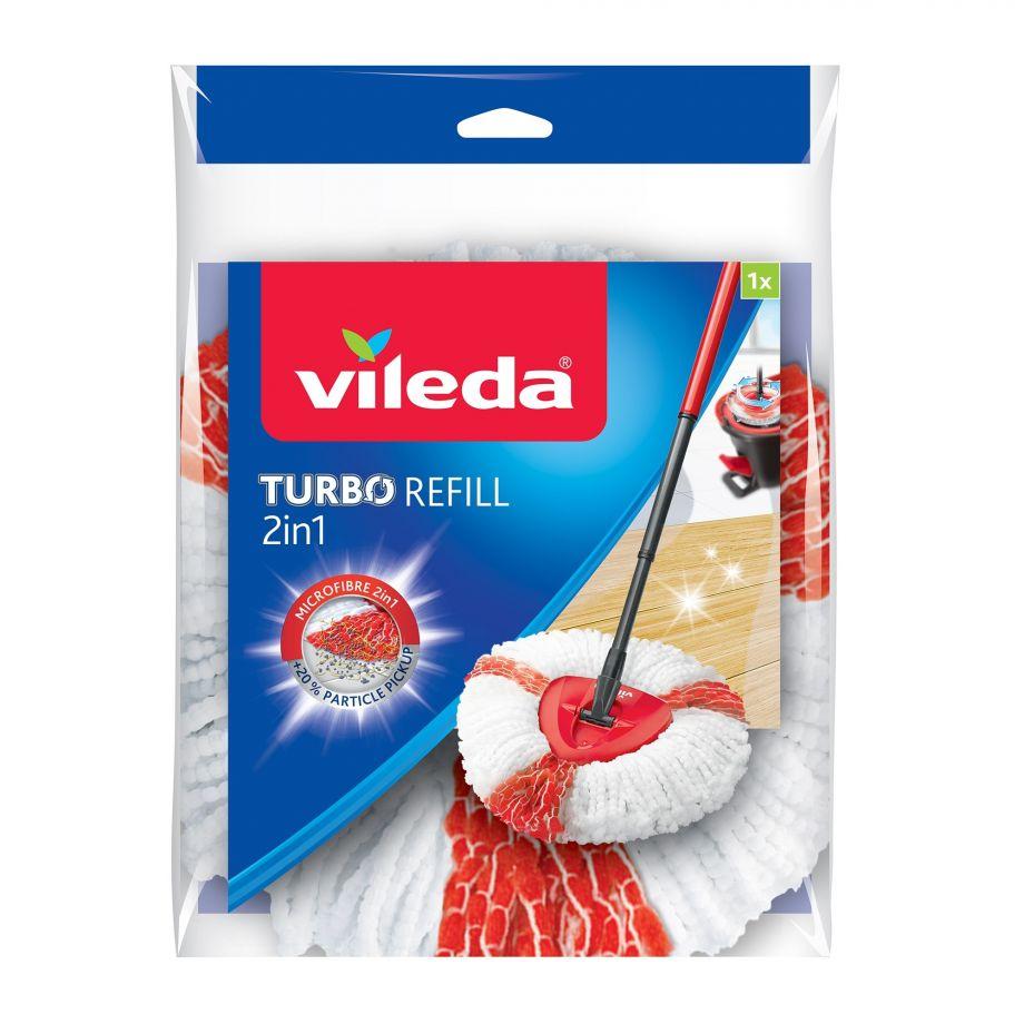 Запасной мат Vileda Easy Wring Турбо ( красные нити )