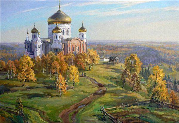 Картина по номерам Храм 40х50см Paintboy Original