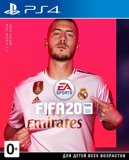 Игра FIFA 20 Ps4 ( русс. версия )