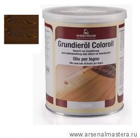 Масляное покрытие для полов и  паркета Borma Grundierol 1л цв.14 дуб антик R3910-14