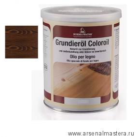 Масляное покрытие для полов и  паркета Borma Grundierol 1л цв.16 палисандр  R3910-16