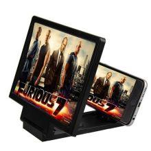 3D увеличитель экрана телефона, Цвет: Черный