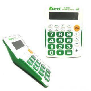 Настольный 12-разрядный калькулятор Kaerda KK-9136B, Цвет: Зелёный