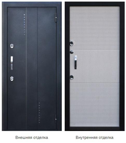 Стальная дверь «Агата-4» (заказная)