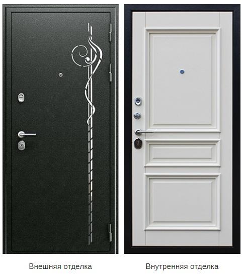Стальная дверь «Шармель» (заказная)
