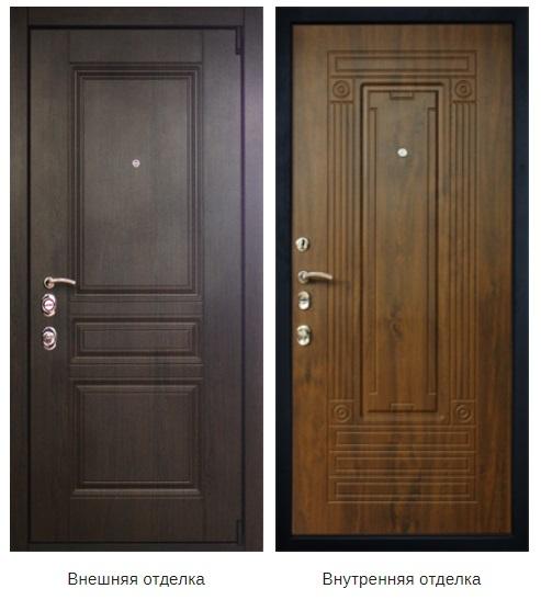 Стальная дверь «Антей» (заказная)