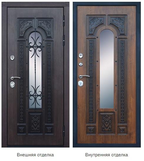 Стальная дверь «Русь» (заказная)