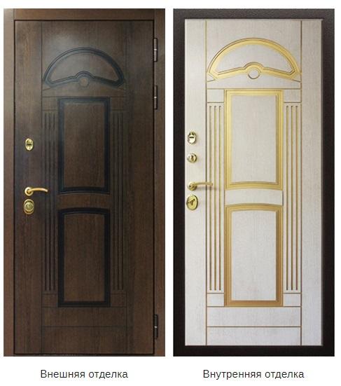 Стальная дверь «Аполлон» (заказная)
