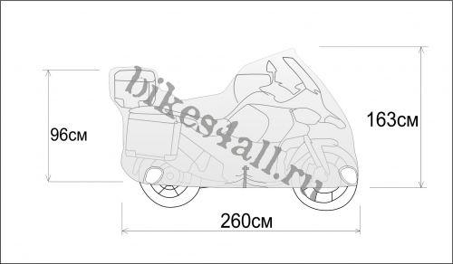 Чехол Rexwear Эндуро BMW R 1200 GS