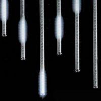 """Светодиодная гирлянда """"Тающие сосульки"""", 8 шт.( 50 см.) Белый"""