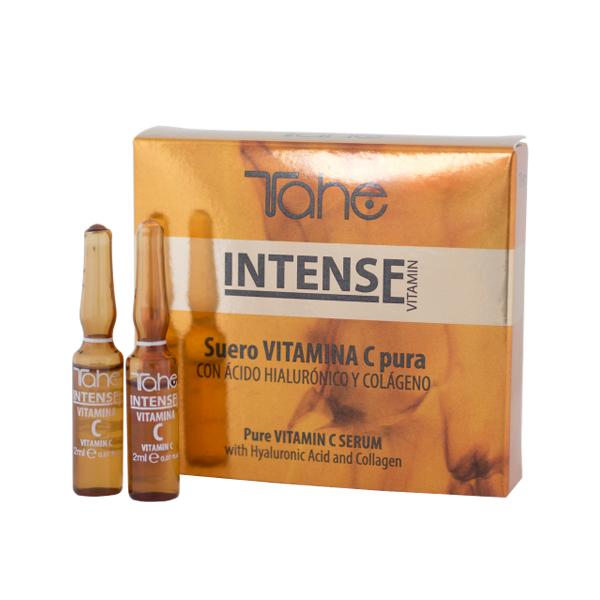 Сыворотка с лифтинг эффектом и чистым витамином С Tahe Intense, 5х2 мл.