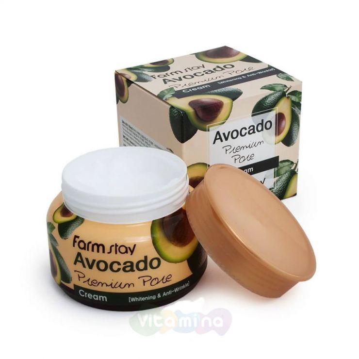 FarmStay Осветляющий лифтинг-крем с экстрактом авокадо Avocado Cream, 100 мл
