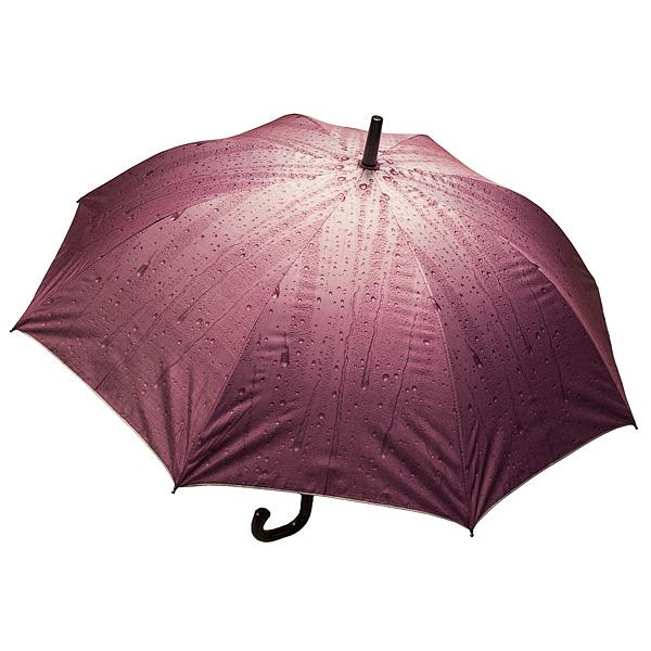 Зонт Дождь красный
