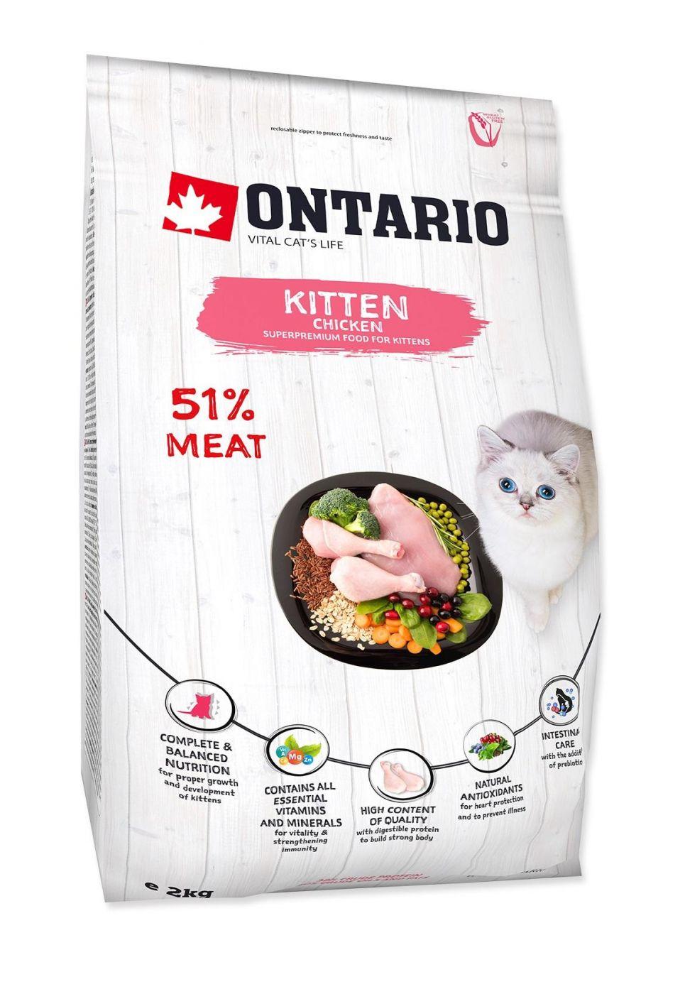 Ontario Для котят с курицей и индейкой