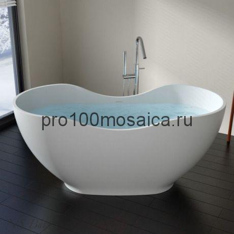 NSB-16679 Ванна из POLYSTONE (акриловый камень) размер,мм: 1660*790*710 (NS BATH)
