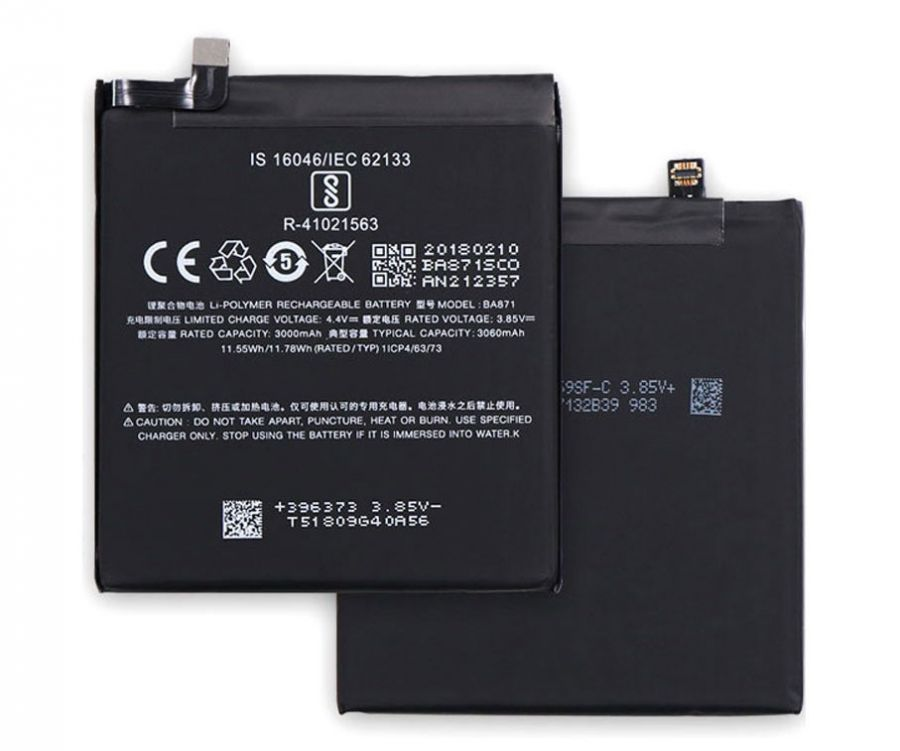 Аккумулятор Meizu 15 Lite (BA871) Оригинал