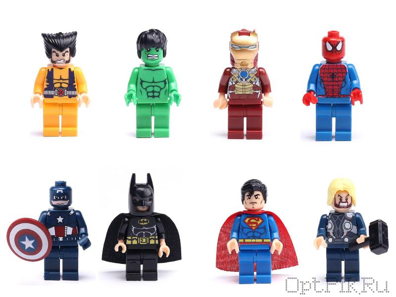 """Шарик-сюрприз """"Лего-герои"""""""