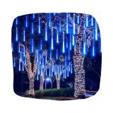 Гирлянда СОСУЛЬКА 50 см 8 ламп 4 м синий