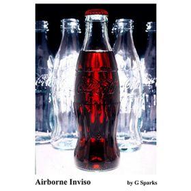 Левитация стакана Coca-Cola - Airborne inviso by G Sparks