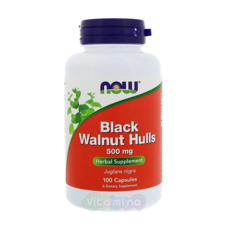 Black Walnut Hulls - Черный орех 500 мг. 100 капс.
