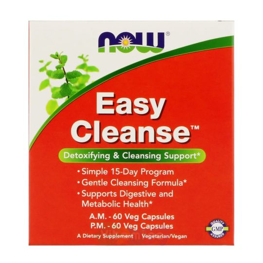 Easy Cleanse (Изи Клинз) 2 банки по 60 капсул.