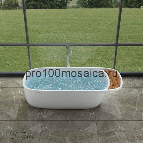 NSB-18580 Ванна из POLYSTONE (акриловый камень) размер,мм: 1850*800*580 (NS BATH)