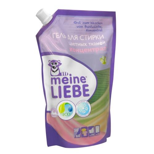 MEINE LIEBE Гель для стирки цветных тканей концентрат, 750 мл