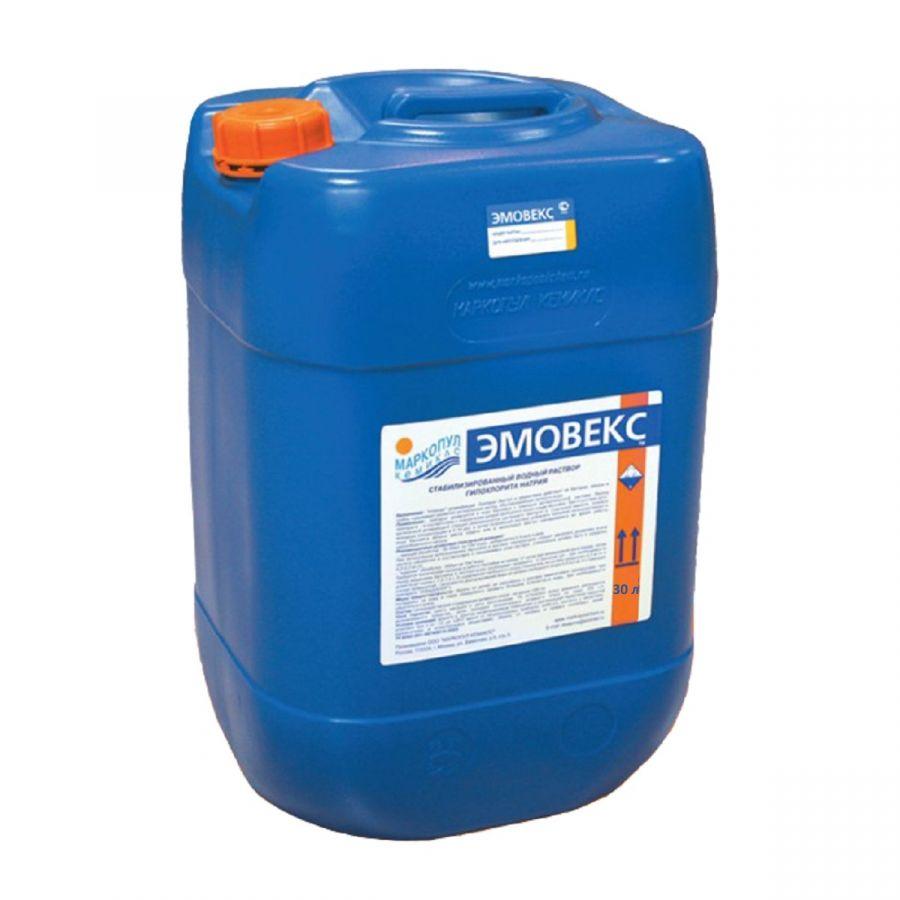 Эмовекс жидкий хлор (30 л)