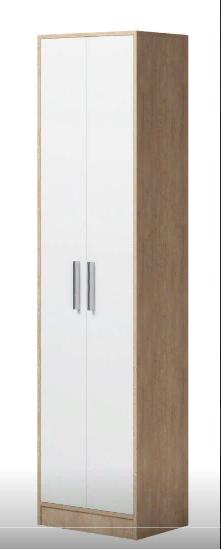 Enter (ПР) Шкаф для одежды Дуб сонома/Белый