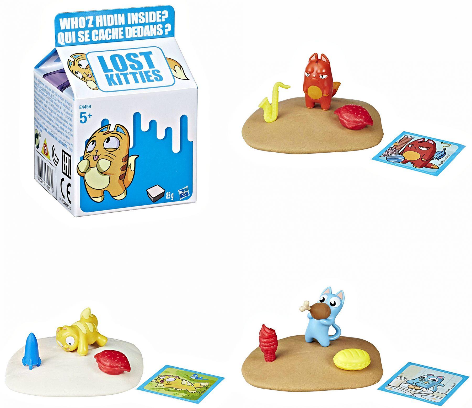 Купить Игровой набор Lost Kitties Котенок в молоке