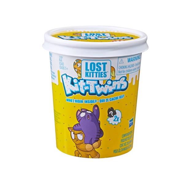 Игровой набор Lost Kitties Котики-близнецы