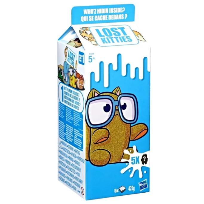 Игровой набор Lost Kitties Большой пакет молока, в ассортименте