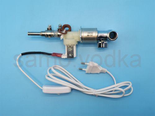 Переходникрегулятор подачи воды с электроклапаном
