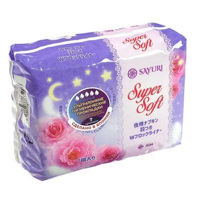 Ночные гигиенические прокладки Super Soft ультратонкие