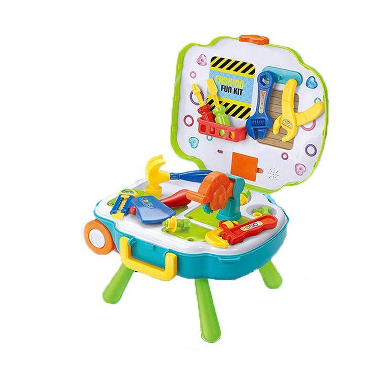 L666-23  набор детских инструментов в чемодане Labor